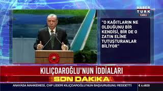 CB Erdoğan'dan Kılıçdaroğlu'nun iddialarına yanıt