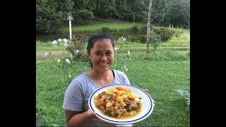 How To Cook The Best Filipino Style Chicken Curry Ever