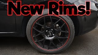 New Rims an tyres on my Punto! | Inter Action Universe 17""