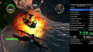 Crimson Skies: High Road to Revenge Fullgame Speedrun 2:29:55
