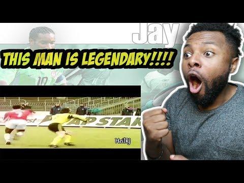 Jay Jay Okocha The Wizard Reaction