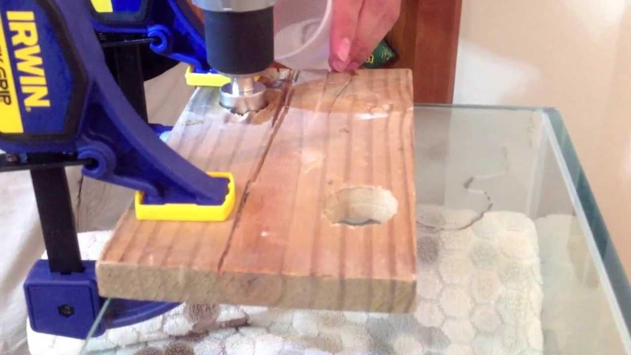 Drilling Holes In Glass Aquarium