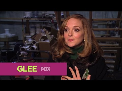 GLEE  A Holiday Moment: Jayma Mays