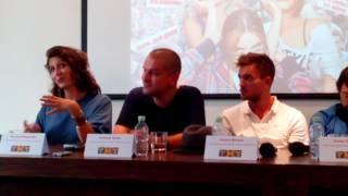 Канал ТНТ представил киносериал «Кризис нежного возраста»в Петербурге(15)