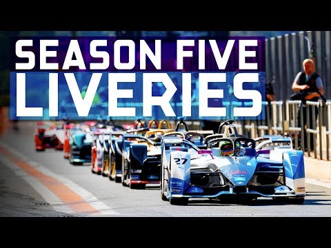 New Formula E Liveries | Gen2 On Show In Pre-Season Testing