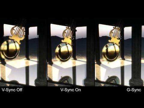 Nvidia G-Sync Demo: V-Sync On/Off vs. G-Sync