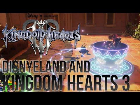 Disneyland Experience and Kingdom Hearts 3