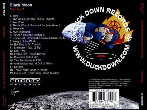 Black Moon - War Zone - FULL ALBUM