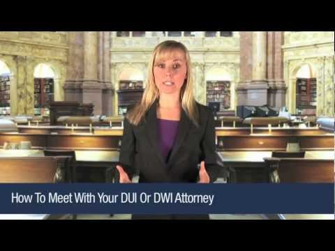 How To Meet With Your Melborne Florida DUI DWI Attorney