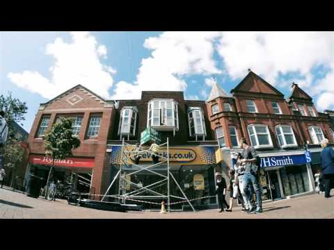 The Works Wilmslow Store Refit Timelapse