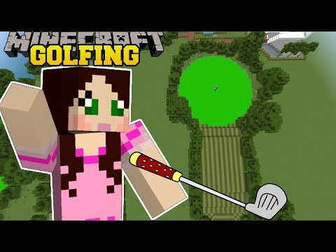 Minecraft: GOING GOLFING! (18 INSANE HOLES!) Mini-Game