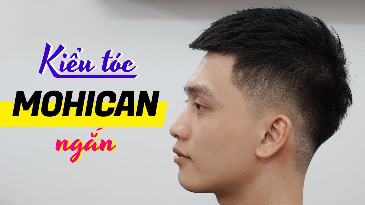 Kiểu tóc Mohican ngắn – Kiểu tóc nam đẹp 2020 – Chính Barber