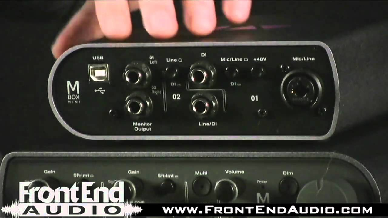 Avid Mbox 3 Audio Interfaces Youtube
