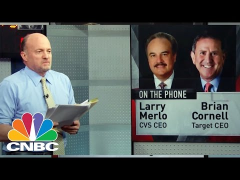 Target & CVS CEOs: The One-Off Deal Of A Lifetime | Mad Money | CNBC