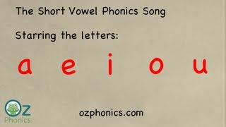 Phonics Song - aeiou short vowels (Australian accent version)