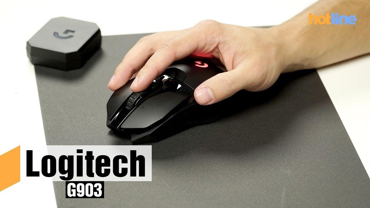 Logitech G903 — обзор самой технологичной мыши в линейке компании