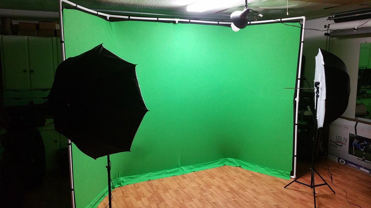 Diy Retail Mix Panoramic Green Screen Setup Youtube