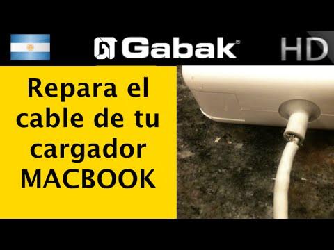 como arreglar el cable del cargador de una macbook