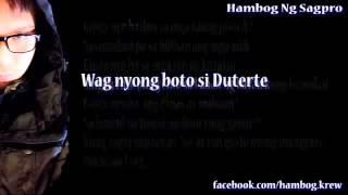 Follow Hambog Ng Sagpro one and only FB account: https://www.facebo...