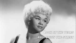 The Sky Is Crying - Etta James (Lyrics)