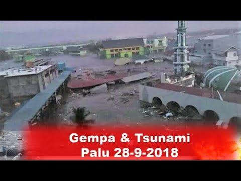 Gempa & Tsunami Palu, Tanda Tanda Sebelum Terjadinya