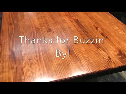 Techniques and tips on staining and clear coating wood