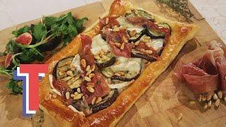 Aubergine & Goat's Cheese Tart | We Heart Food 2