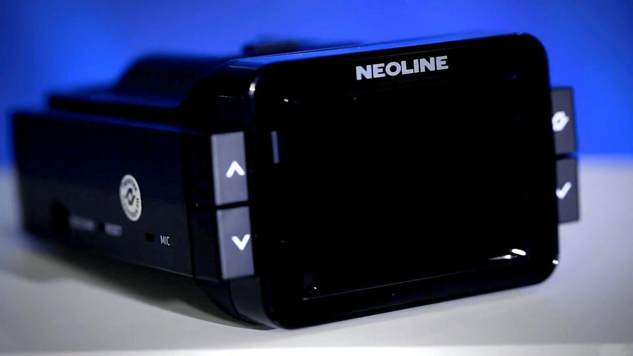 NEOLINE X-COP 9000c – гибридный радар видеорегистратор ...