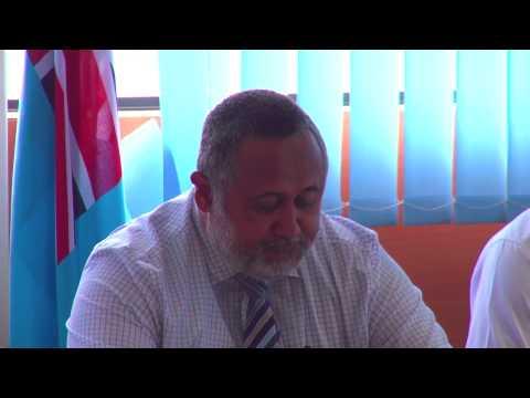 Fiji Ministry of Transport Permanent Secretary Press Conference.