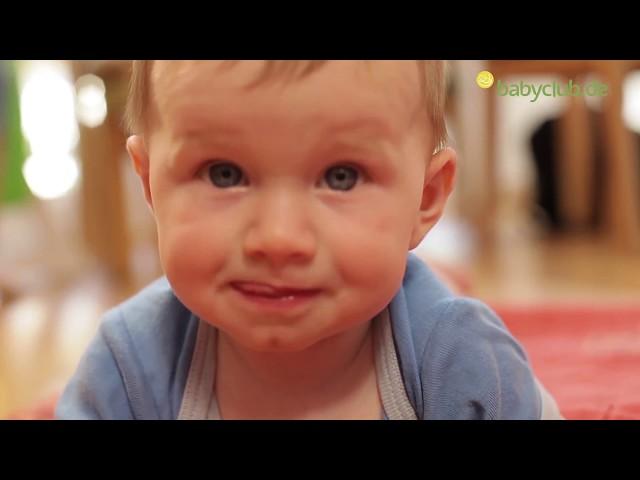 Zahn anzeichen erster Wenn Babys