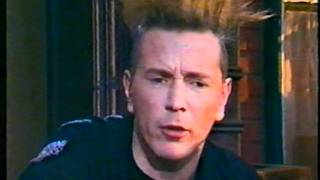 John Lydon at Universal Studios on The Word