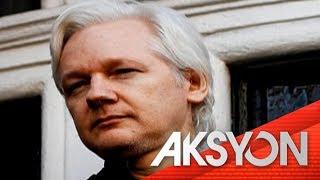 Pag-aresto sa founder ng WikiLeaks