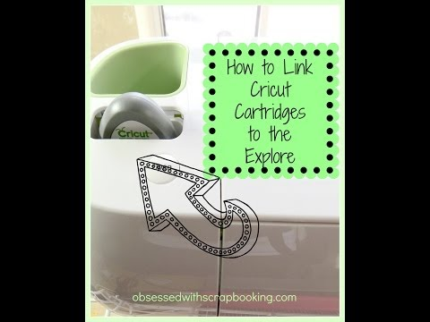 Cricut Explore- How to Link Cartridges to Design Space