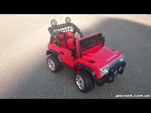 Детский электромобиль Джип M 3157 EBLRS-2, Автопокраска, черный - дисней.com.ua