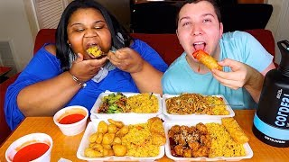 Chinese Food Take-Out • MUKBANG
