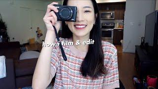 來!拍攝+剪輯影片的流程分享 | How I Film u0026 Edit My Videos