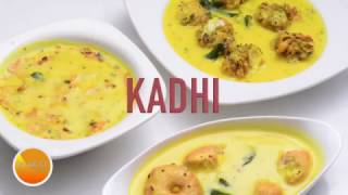 3 Simple Dahi Ki Kadhi - Besan Kadhi Recipe