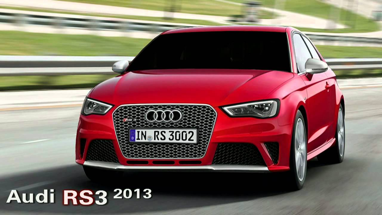 All New Audi Rs3 2013 And Audi A3 Cabriolet Cabrio Sline