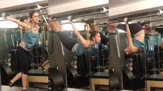 HOT VIDEO Alia Bhatt Workout In Gym