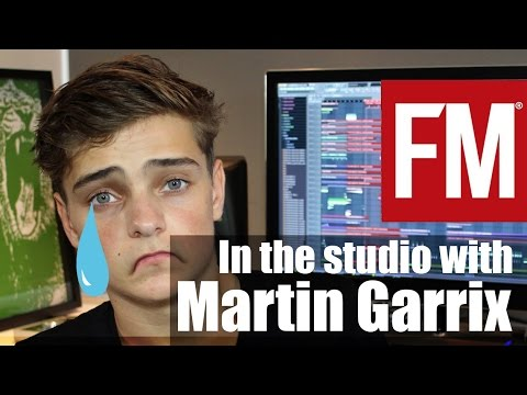 Martin Garrix In The Studio With Fagget Music