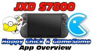 JXD S7800 Happy Chick & GameSome overview / Guide