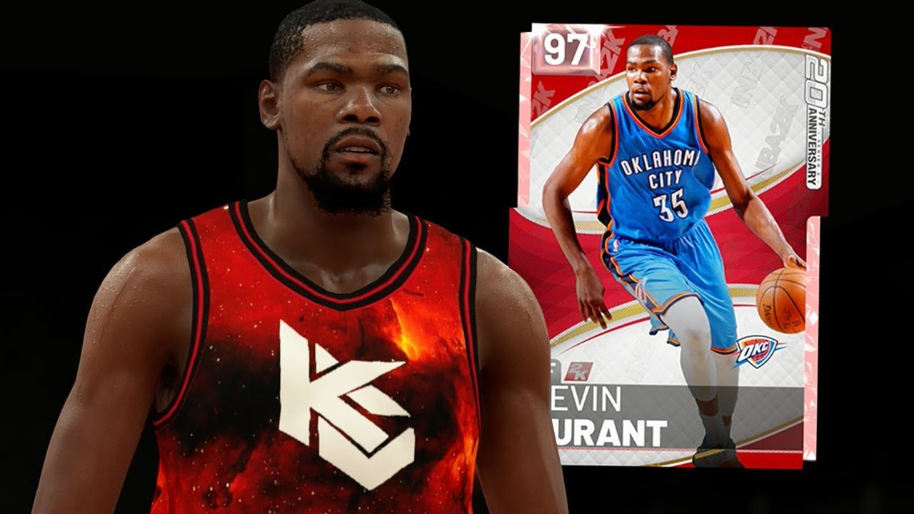 9775d4cb8df7 PINK DIAMOND KEVIN DURANT GAMEPLAY! HE S OVERPOWERED! (NBA 2K19 MYTEAM)