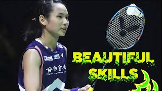 Tai Tzu Ying 戴資穎 Beautiful Skills and Trickshots Badminton