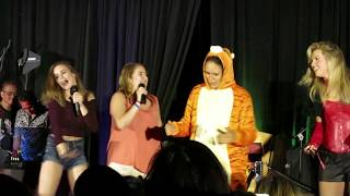 "VanCon 2017: Karaoke ""Mambo No. 5"" & ""So Delicious"" (partial)"