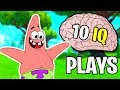 When Fortnite STREAMERS have 10 IQ #2 (funniest fails of all time)