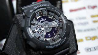Casio G-Shock GA-110-1B Unboxing [Gecco Cyc:Largest Watch Online Seller In Malaysia]