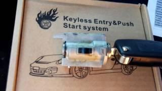 Установка кнопки старт-стоп и ее работа в режиме простого запуска и автозапуска от сигнализации