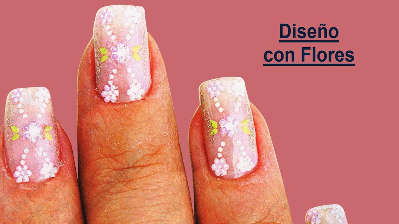 Manicure decoraciones de u as decorados de u as como - Decorados de unas ...