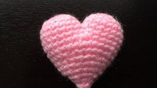 Как связать сердечко