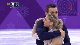 Alexa SCIMECA KNIERIM & Chris KNIERIM Team Short Program Pyeongchang 2018